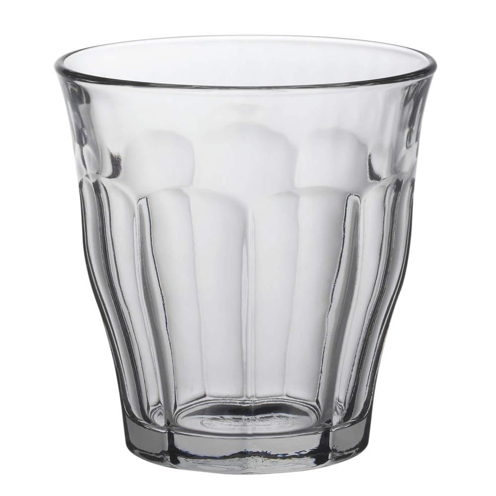 Duralex|法國強化玻璃杯Picardie(220ml / 6入組 / 透明)