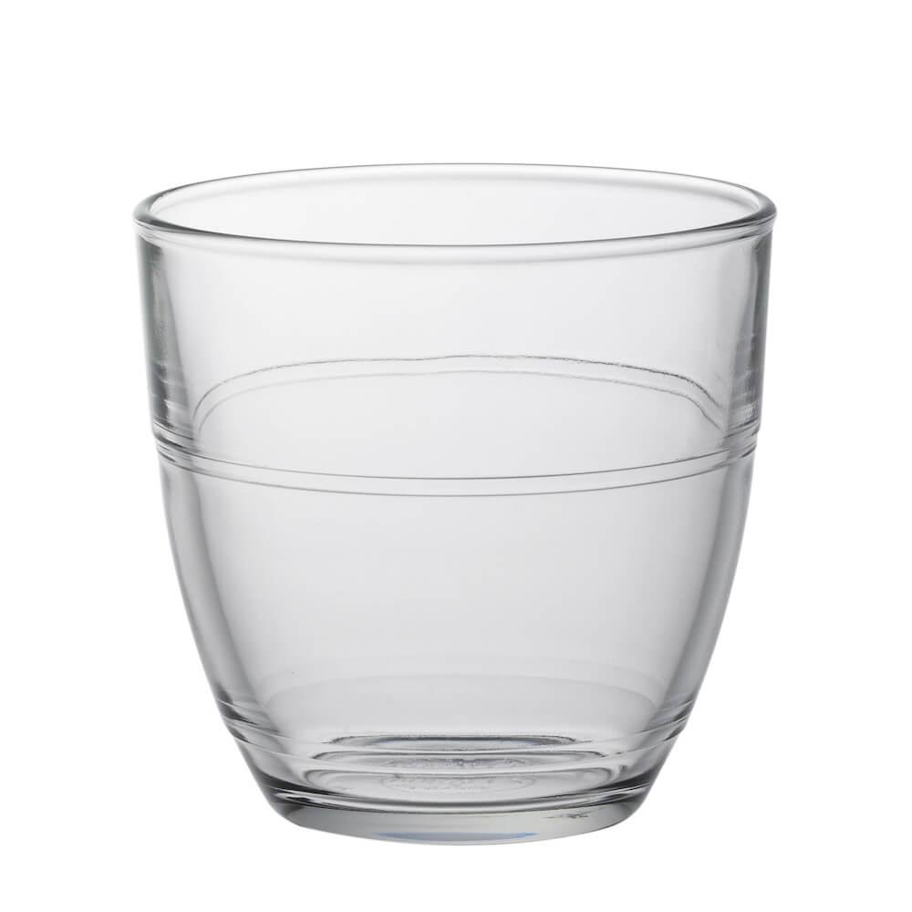 Duralex|法國強化玻璃杯Gigogne(220ml / 6入組 / 透明)