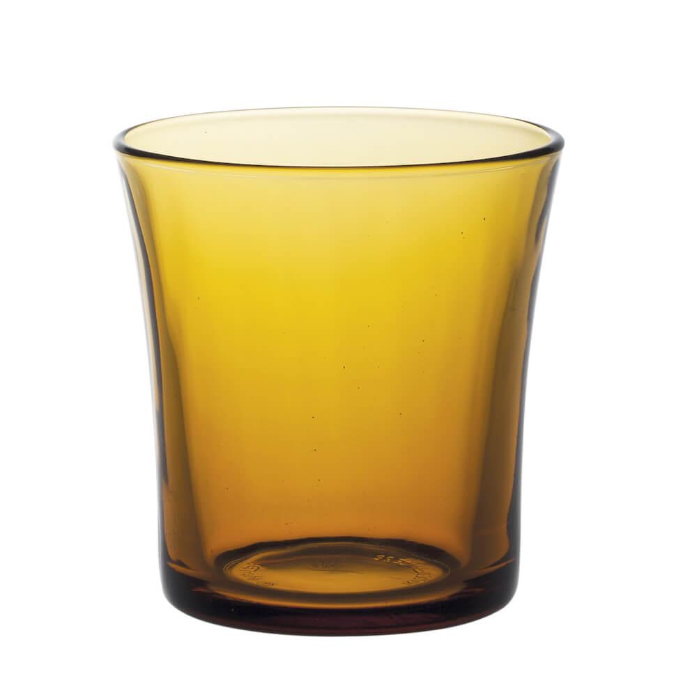 Duralex|法國強化玻璃杯Lys(160ml / 4入組 / 琥珀色)