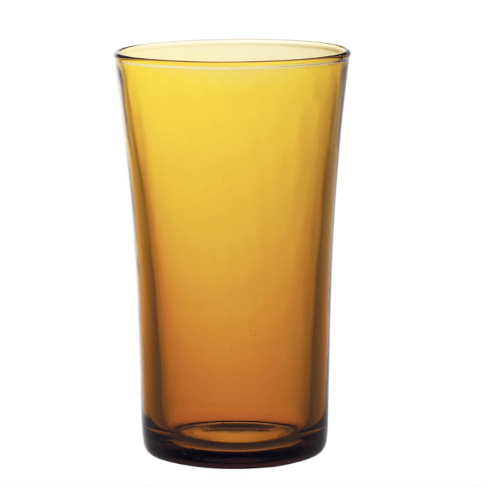 Duralex|法國強化玻璃杯Lys(280ml / 6入組 / 琥珀色)