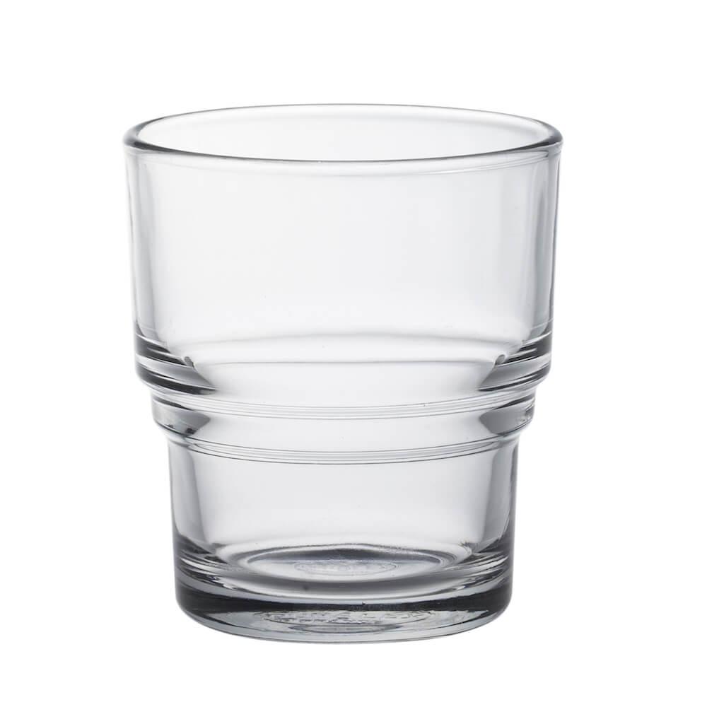 Duralex|法國強化玻璃杯Bistro(210ml / 4入組 / 透明)