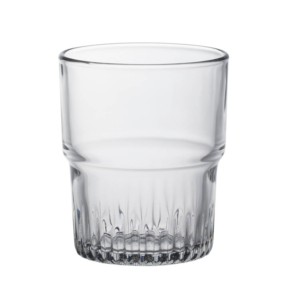 Duralex|法國強化玻璃杯Empilable(200ml / 4入組 / 透明)