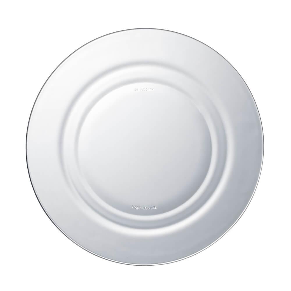 Duralex|法國強化玻璃湯盤Lys(23cm / 2入組 / 透明)
