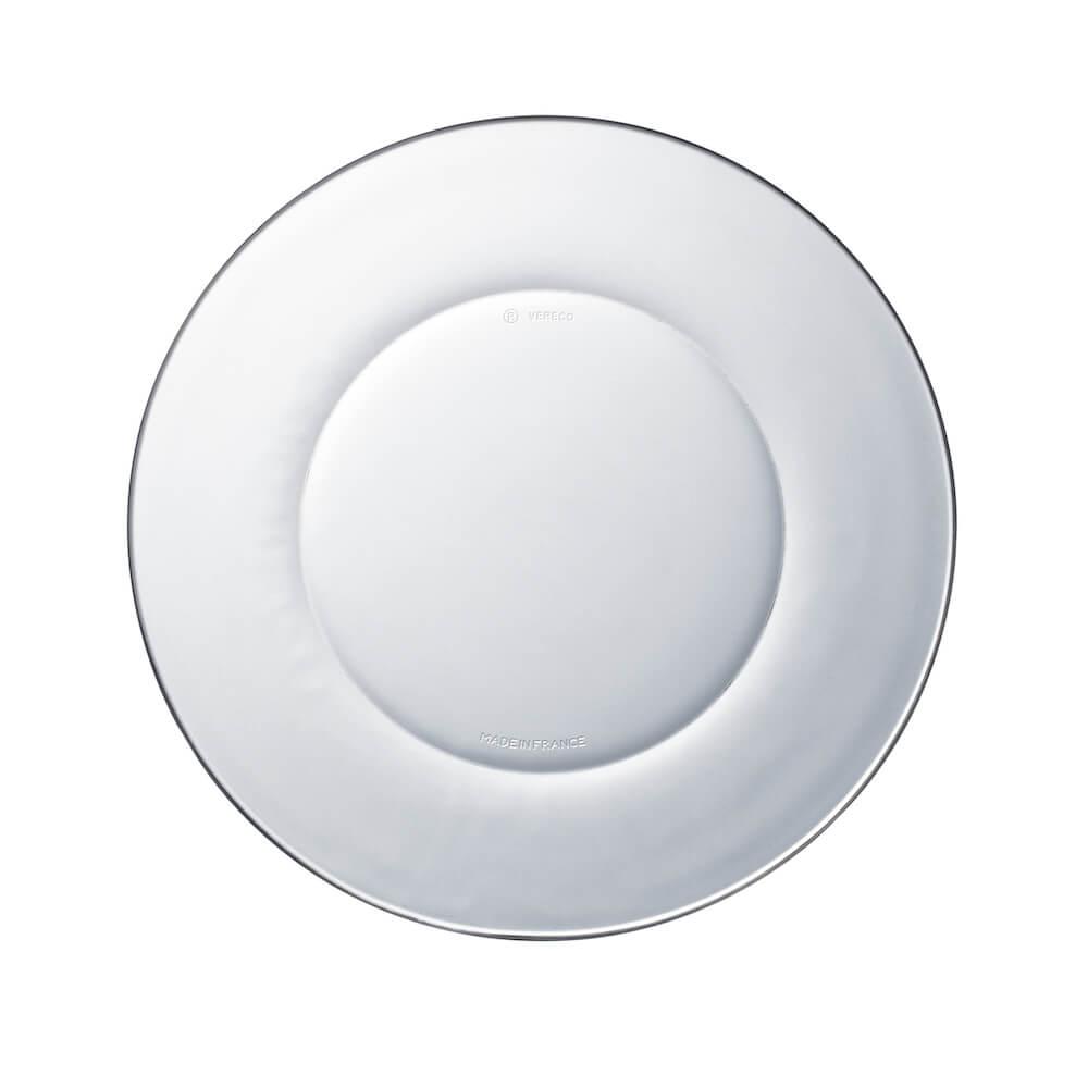 Duralex|法國強化玻璃淺盤Lys(19cm / 2入組 / 透明)