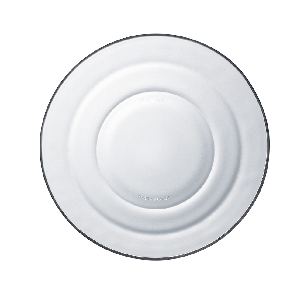 Duralex|法國強化玻璃湯盤Lys(17.5cm / 2入組 / 透明)