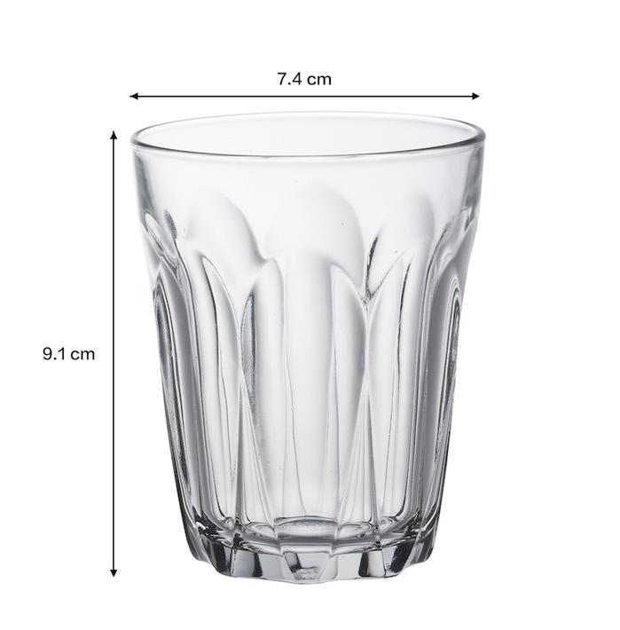 (複製)Duralex|法國強化玻璃杯Provence(130ml / 6入組 / 透明)
