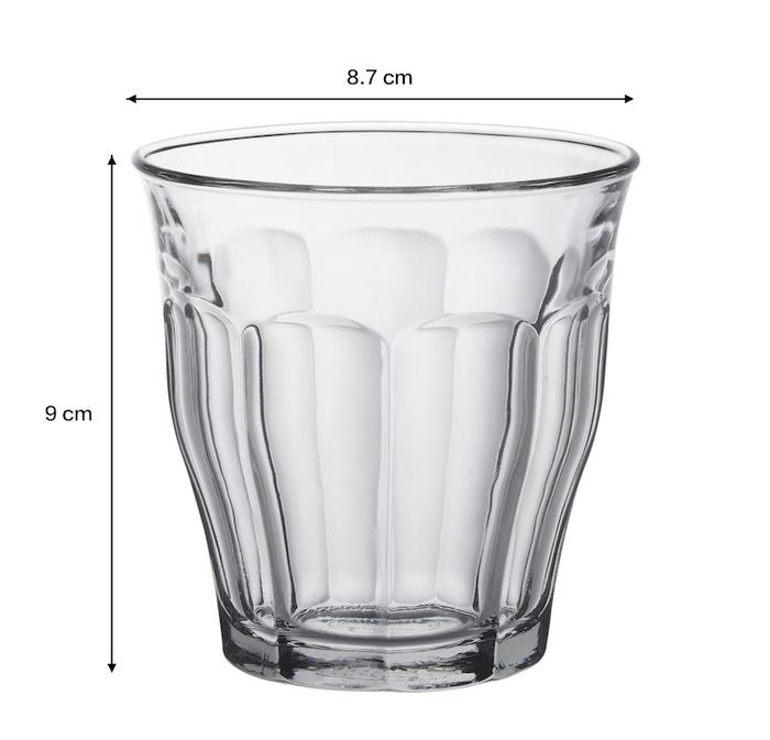 (複製)Duralex|法國強化玻璃杯Picardie(220ml / 6入組 / 透明)