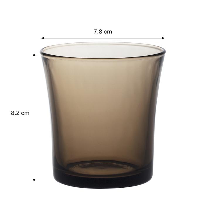 (複製)Duralex|法國強化玻璃杯Lys(210ml / 6入組 / 琥珀色)