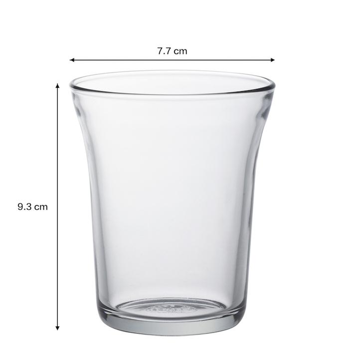 (複製)Duralex|法國強化玻璃杯Bistro(210ml / 4入組 / 透明)