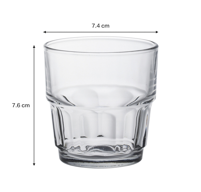 (複製)Duralex|法國強化玻璃杯Hilal(255ml / 6入組 / 透明)