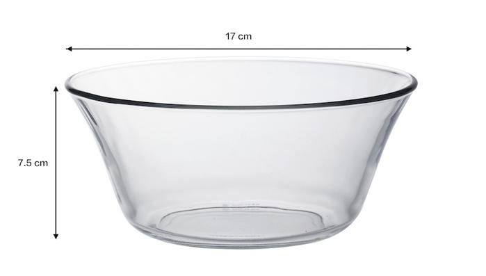 (複製)Duralex|法國強化玻璃小碗Lys(250ml / 6入組 / 透明)