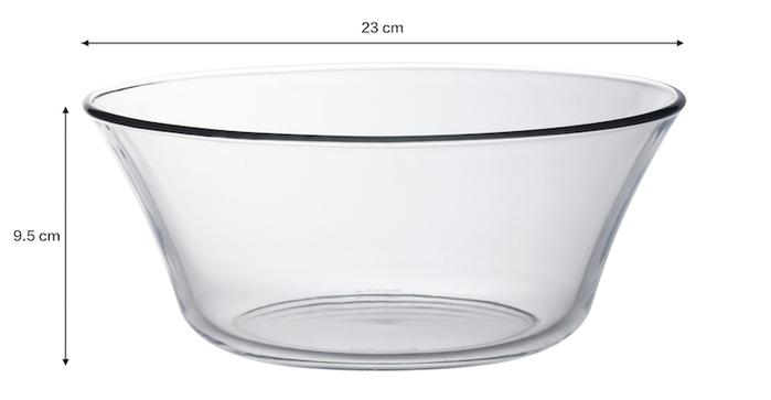(複製)Duralex|法國強化玻璃湯碗Lys(910ml / 2入組 / 透明)