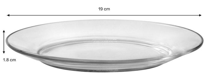 (複製)Duralex|法國強化玻璃湯盤Lys(23cm / 2入組 / 透明)