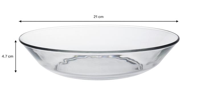 (複製)Duralex|法國強化玻璃淺盤Lys(19cm / 2入組 / 透明)
