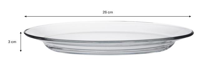 (複製)Duralex|法國強化玻璃小盤子Lys(13.5cm / 6入組 / 透明)
