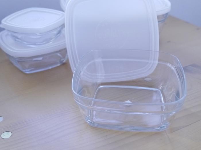 (複製)Duralex|法國強化玻璃保鮮盒Lys(610ml / 1入 / 透明)