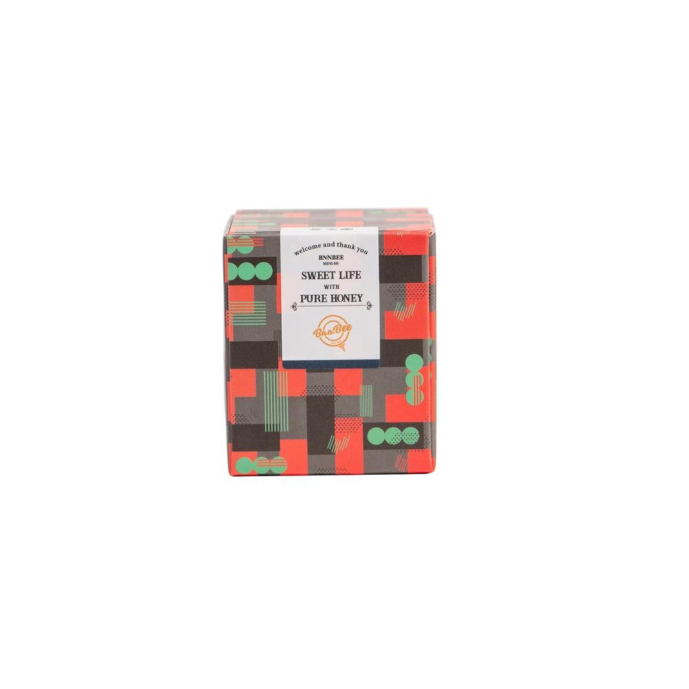 BnnBee 當支蜜|Mini66 Box - 現代灰(龍眼蜜/荔枝蜜)三入組