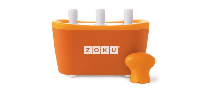 ZOKU|快速製冰棒機(三支裝) - 橘色