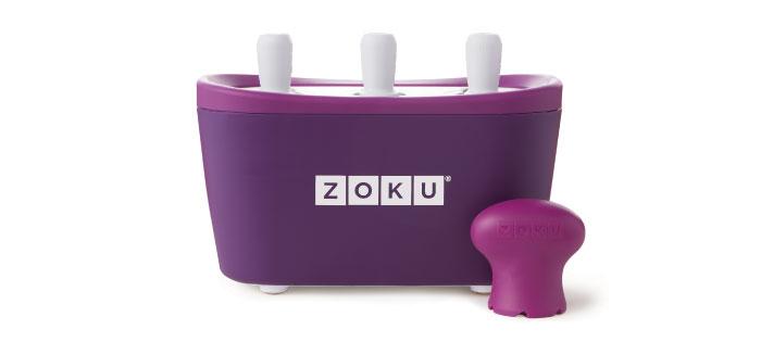 ZOKU|快速製冰棒機(三支裝) - 紫色