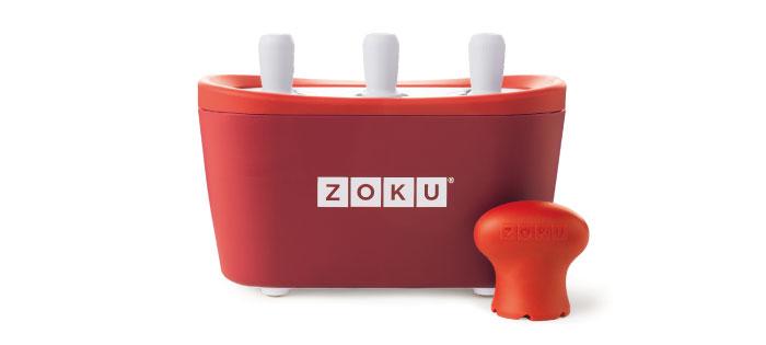 ZOKU|快速製冰棒機(三支裝) - 紅色