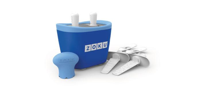 ZOKU|快速製冰棒機(兩支裝) - 藍色
