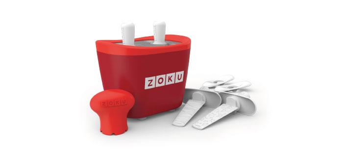 ZOKU 快速製冰棒機(兩支裝) - 紅色