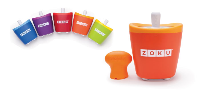 ZOKU|快速製冰棒機(單支裝) - 橘色
