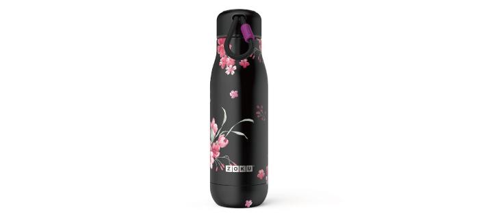 ZOKU|設計款真空不鏽鋼保溫瓶(500ml) - 暗夜花語
