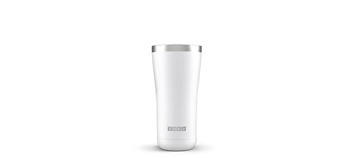 ZOKU|車用真空不鏽鋼保溫杯(600ml) - 珍珠白