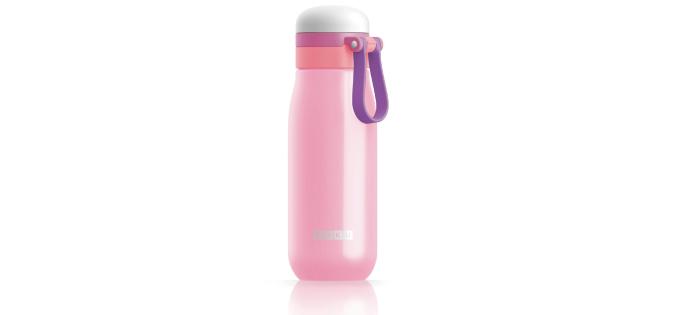 ZOKU|輕量304不鏽鋼冷水壺-粉紅色