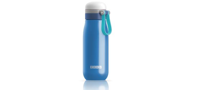ZOKU|輕量304不鏽鋼冷水壺-藍色