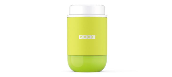 ZOKU|真空304不鏽鋼食物罐475m-萊姆綠