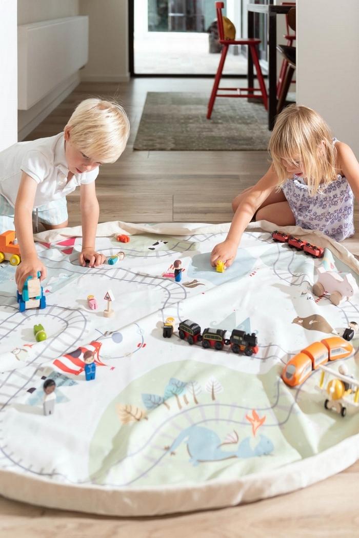 Play & Go|玩具整理袋-火車小旅行