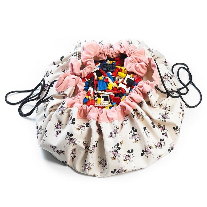 Play & Go 玩具整理袋 -迪士尼限定聯名款 - 米妮