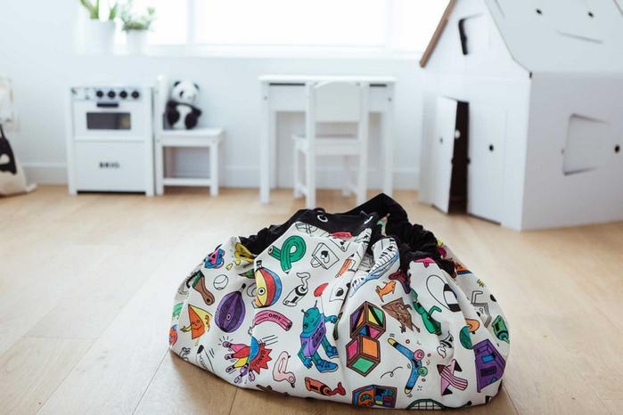 Play & Go|玩具整理袋 - 藝術家聯名款 - 趣味塗鴉