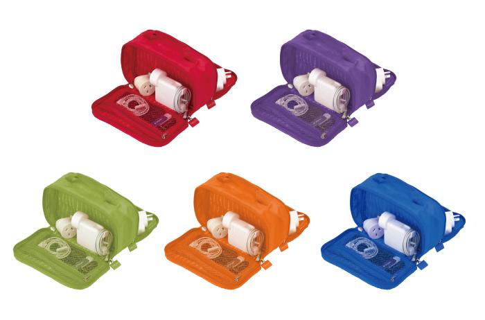 Lapoché|集線收納包-紫色