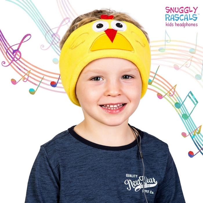 Snuggly Rascals 趣味造型耳機-活力雞