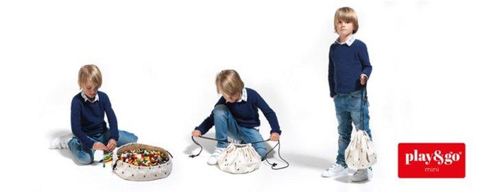 Play & Go|玩具整理袋-迷你閃電
