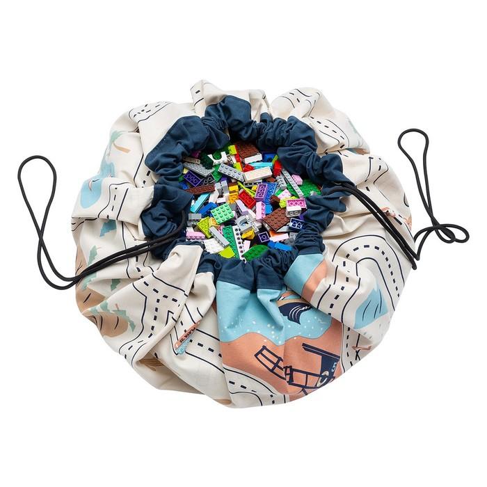 Play & Go|玩具整理袋-跑跑公路L.A.版