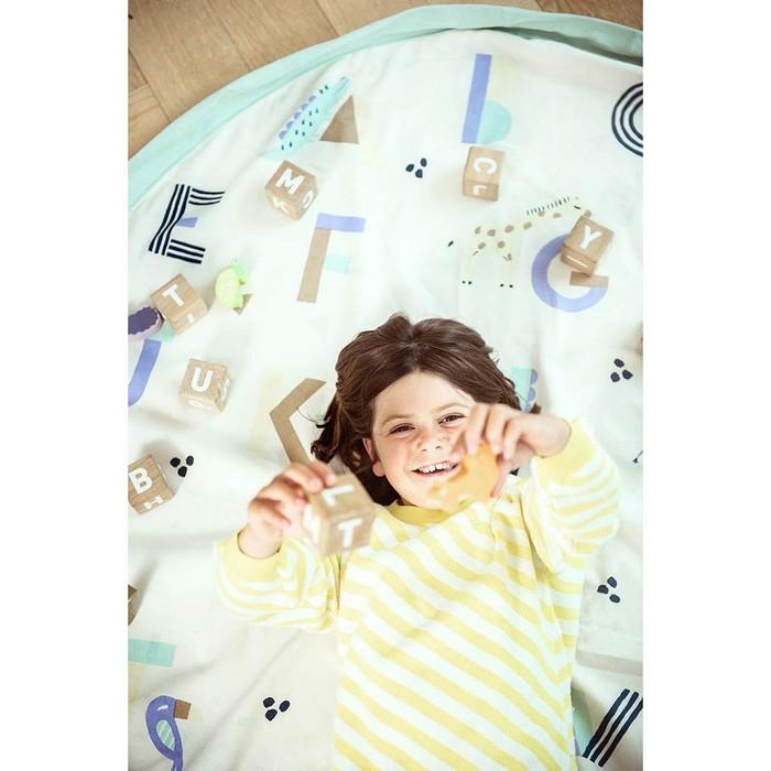 Play & Go|玩具整理袋-動物與英文字母