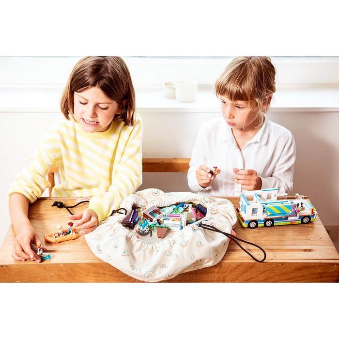 Play & Go|玩具整理袋-迷你繽紛彩虹