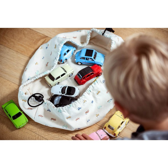 Play & Go|玩具整理袋-迷你汽車