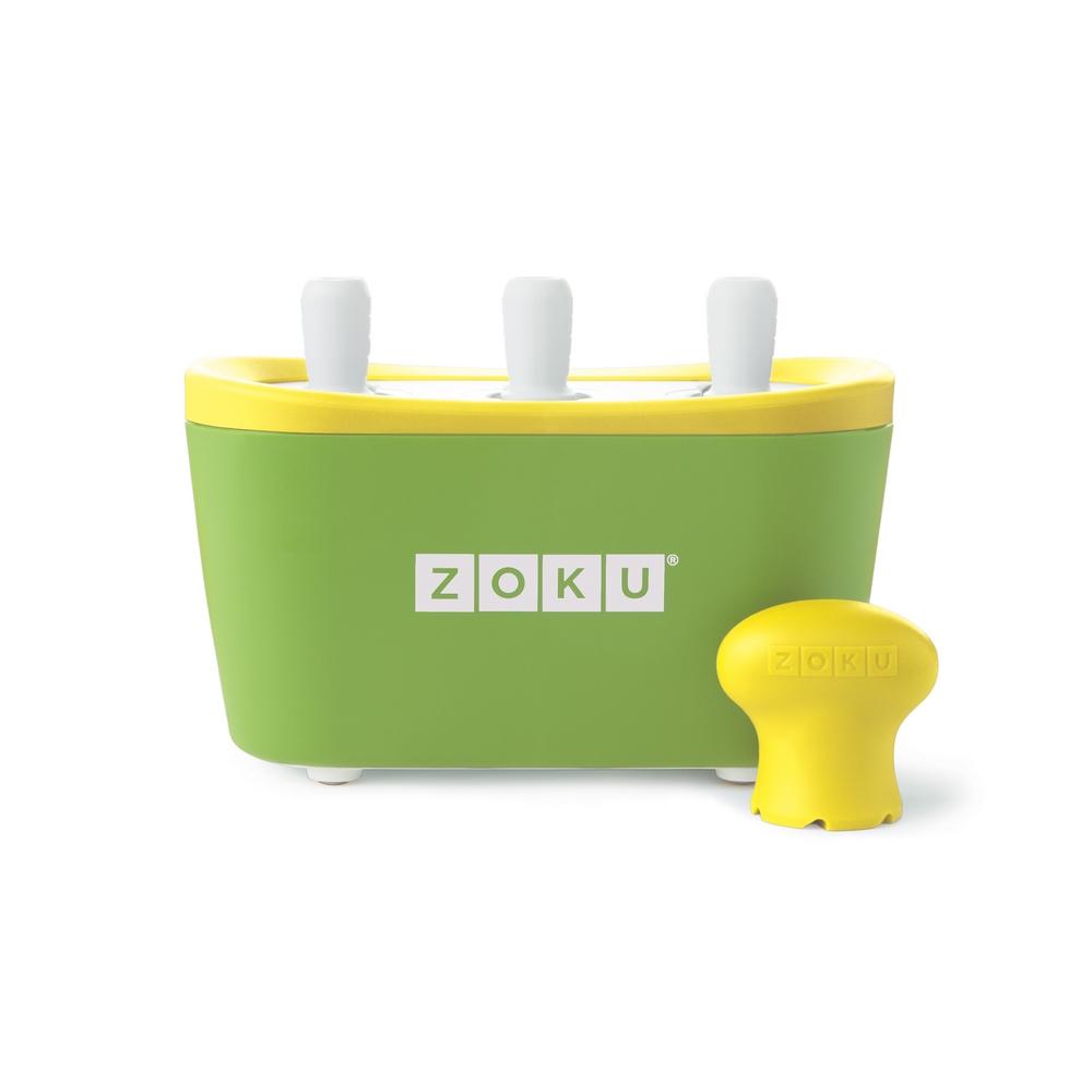 ZOKU|快速製冰棒機(三支裝) - 綠色