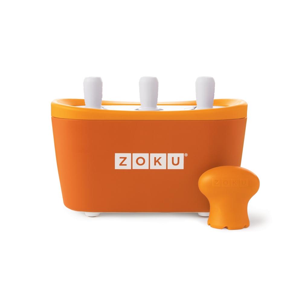 ZOKU 快速製冰棒機(三支裝) - 橘色