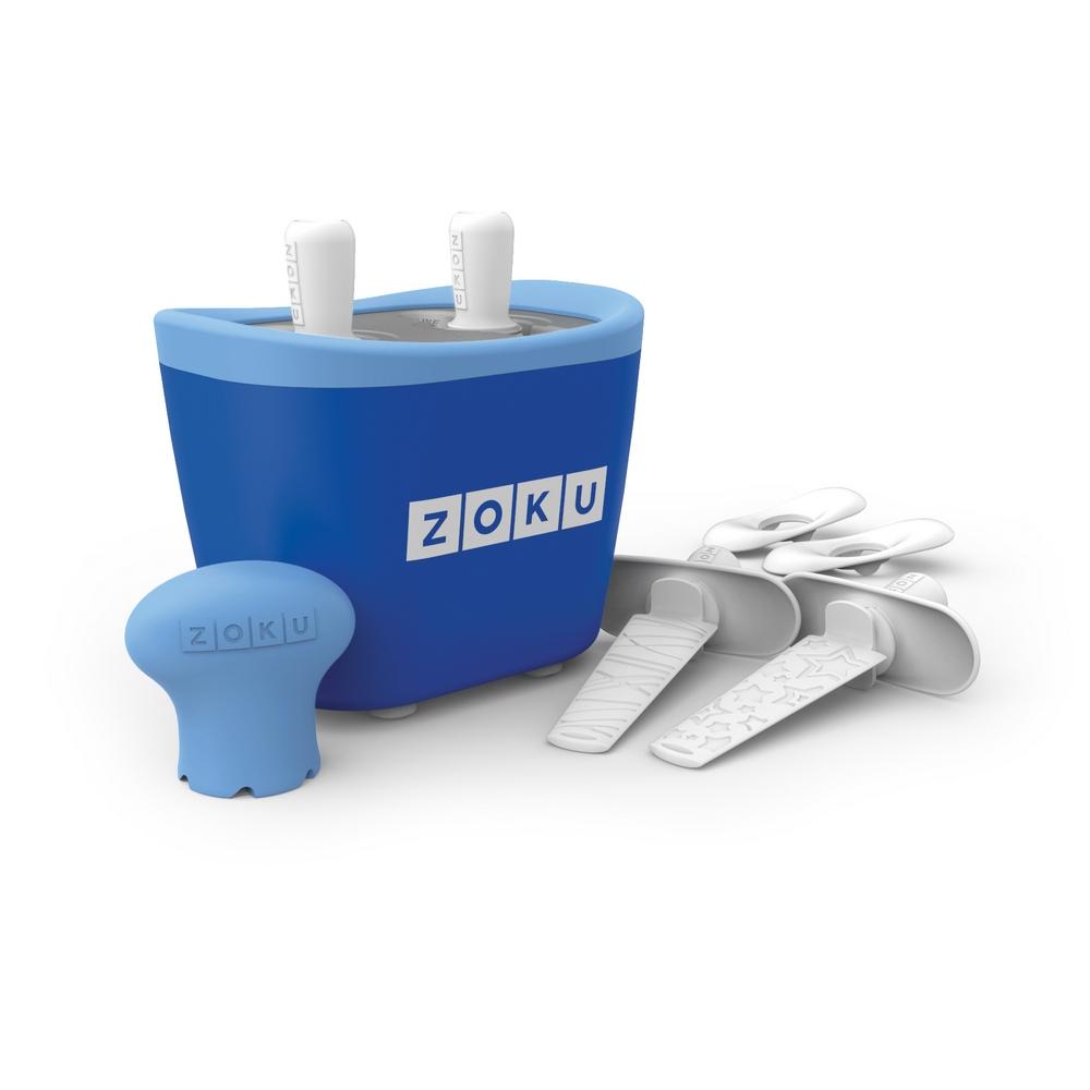 ZOKU 快速製冰棒機(兩支裝) - 藍色