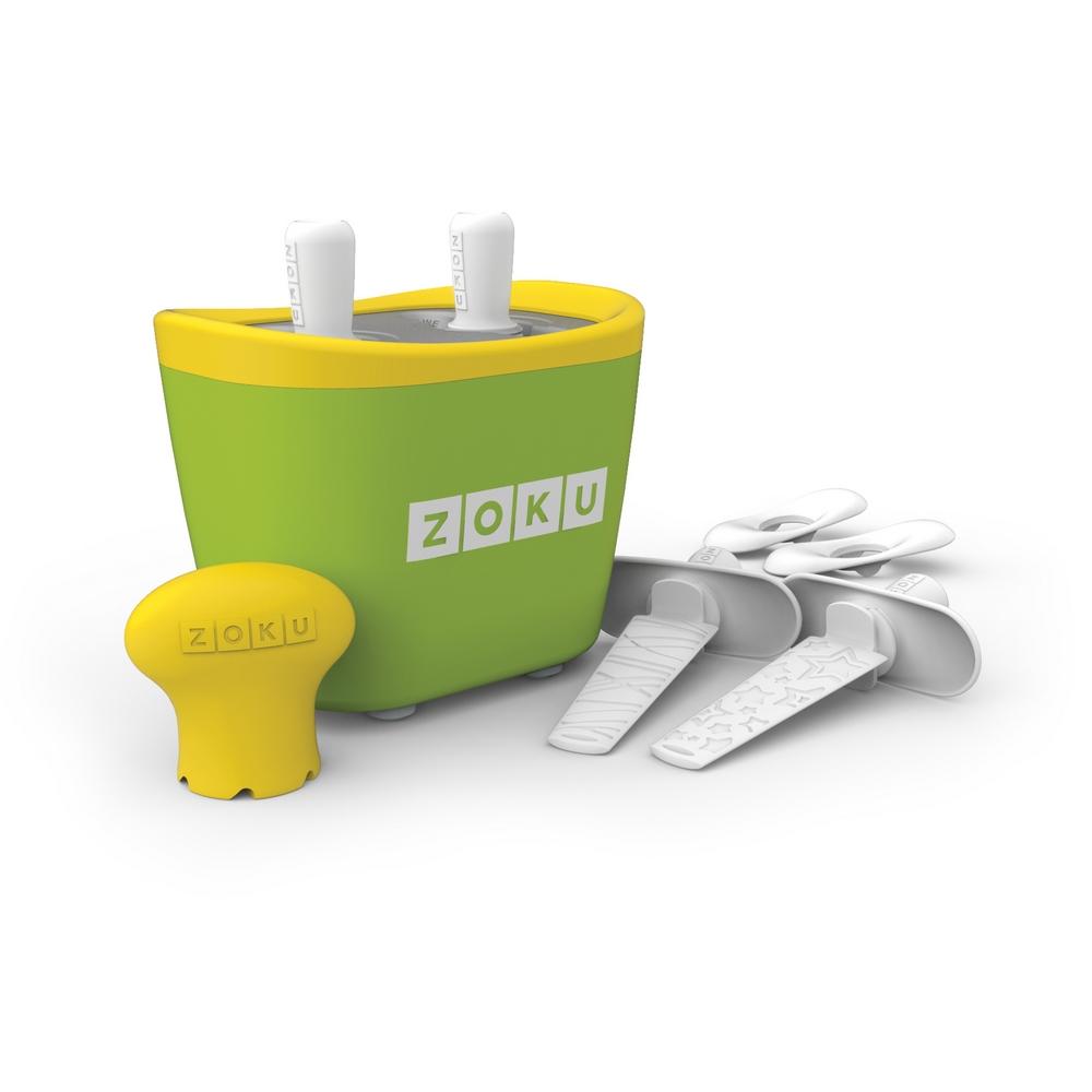 ZOKU|快速製冰棒機(兩支裝) - 綠色