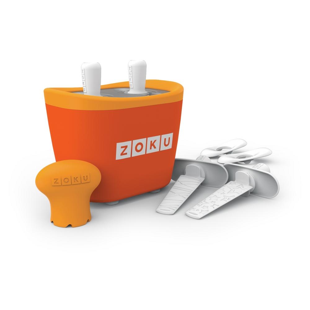 ZOKU 快速製冰棒機(兩支裝) - 橘色