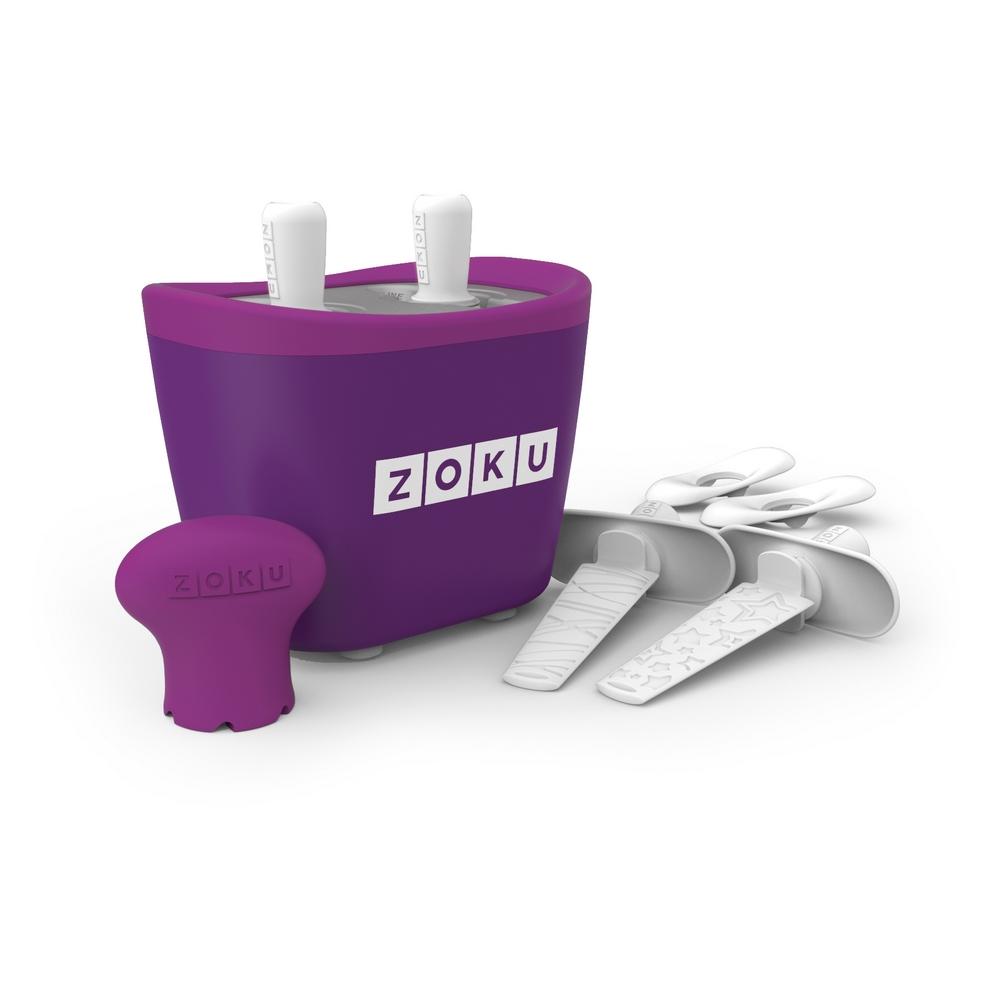 ZOKU|快速製冰棒機(兩支裝) - 紫色