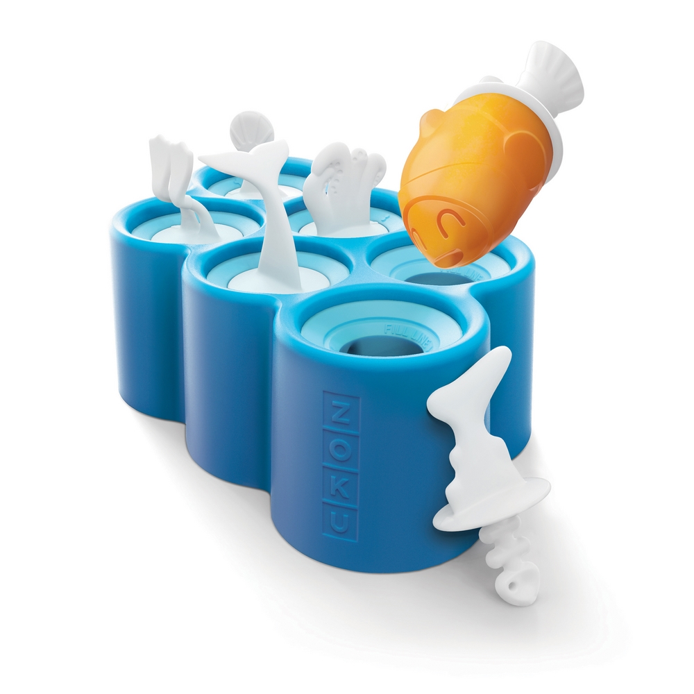 ZOKU|小魚造型冰棒模具組 - 6入