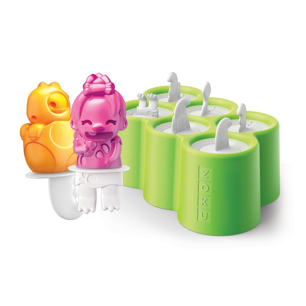 ZOKU|恐龍冰棒模具組 (六入裝)